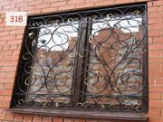 Изготовление СВАРНЫХ и КОВАННЫХ РЕШЕТОК на окна