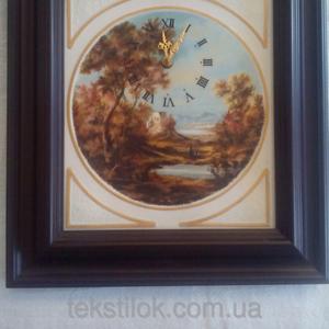 Часы настенные Чехия - фарфор