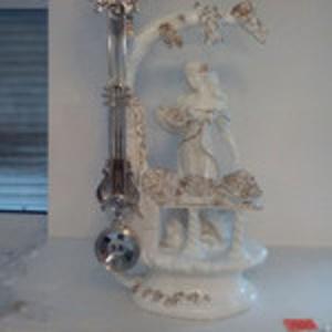 Часы каминные - керамика