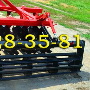 Для боронования почвы – только навесная борона БДН 2.4